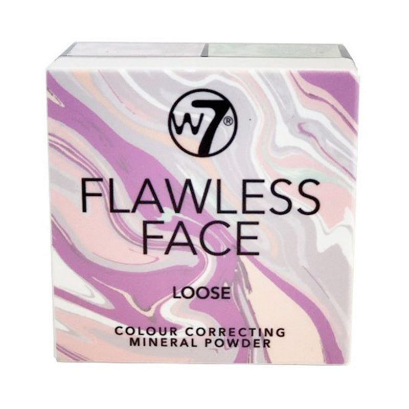 W7 Flawless Face Loose Colour Correcting Mineral Powder