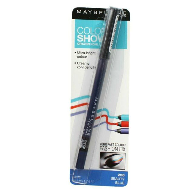 Maybelline Color Show Crayon Liner | 220 Beauty Blue