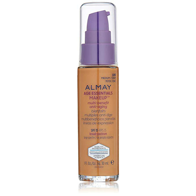 Almay Age Essentials Makeup | 180 Medium/Deep