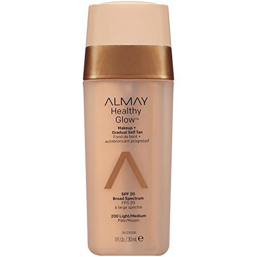 Almay Healthy Glow Makeup | 200 Light/Medium