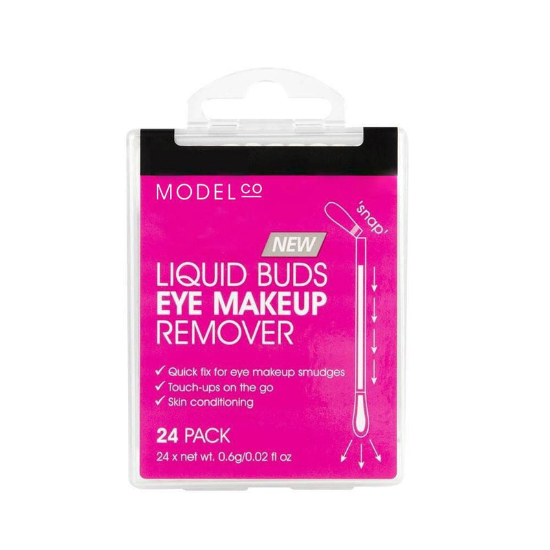 Model Co Liquid Buds Eye Makeup Remover | 24 Pack