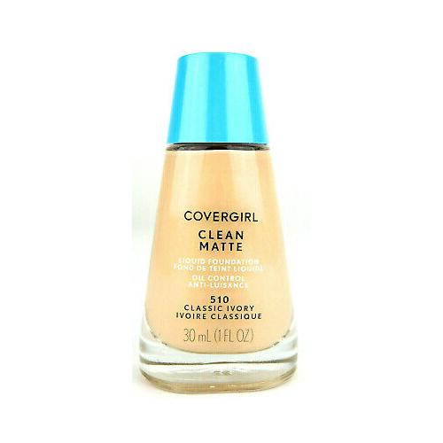Covergirl Clean Matte Liquid Foundation | 510 Classic Ivory