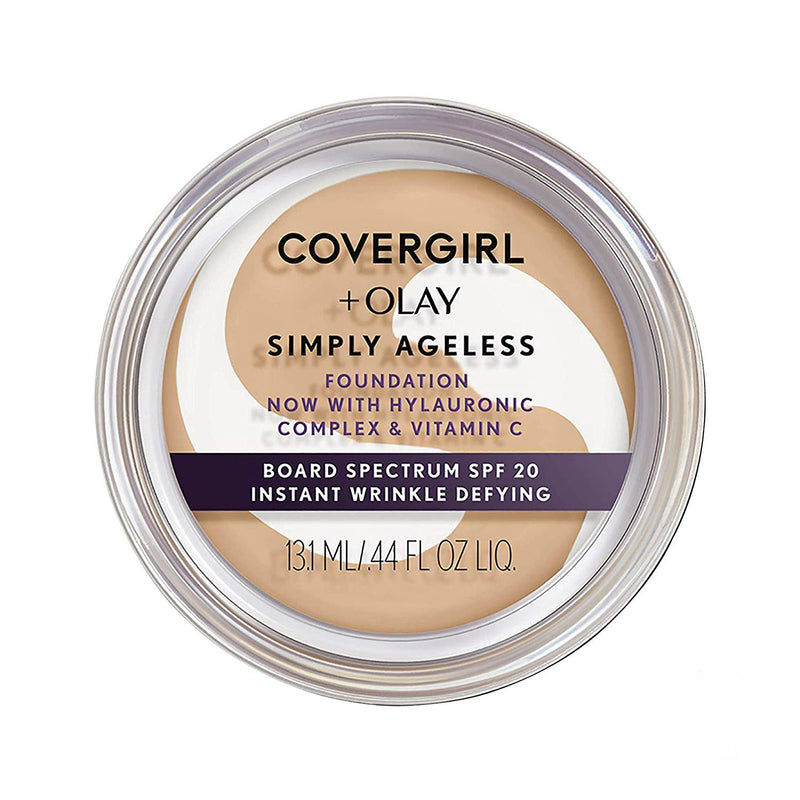 Covergirl Simply Ageless Foundation | 210 Classic Ivory