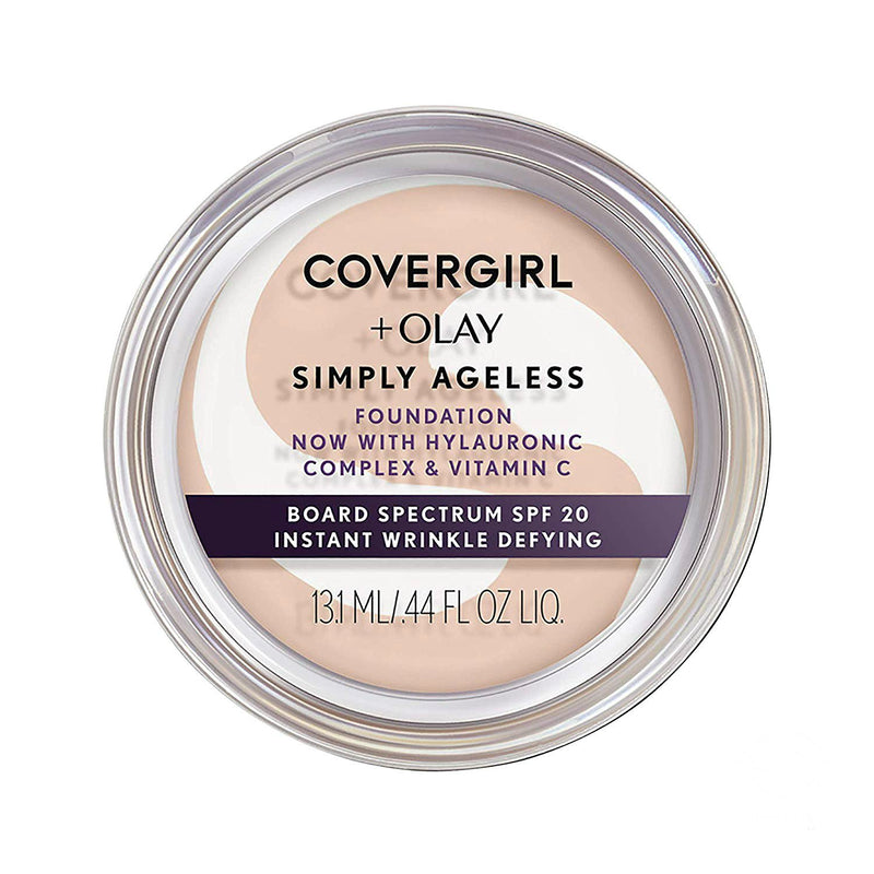 Covergirl Simply Ageless Foundation | 220 Creamy Natural