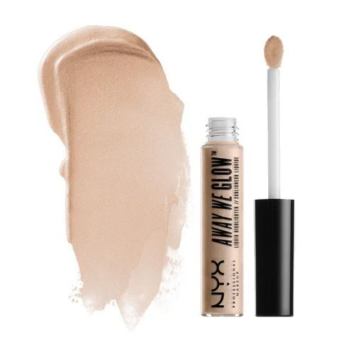 NYX Away We Glow Liquid Highlighter | Crystal Glare