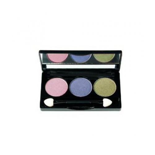 NYX Trio Eye Shadow | Frosted Lilac / Pacific / Kiwi