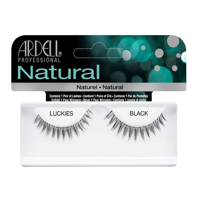 Ardell Invisibands Natural Lashes - Luckies Black