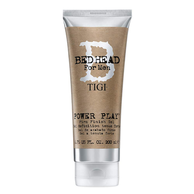 BED HEAD For Men TIGI Power Play Firm Finish Gel 200mL