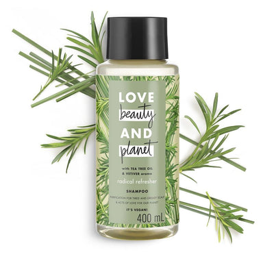 Love Beauty & Planet Radical Refresher Shampoo 400mL