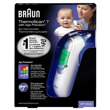 Braun ThermoScan 7 Ear Thermometer (IRT6520)