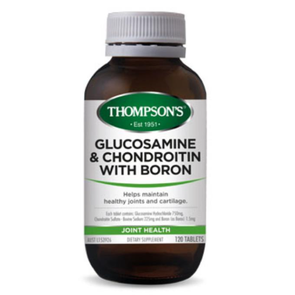 THOMPSON'S Glucosamine & Chondroitin with Boron Tablets 120's