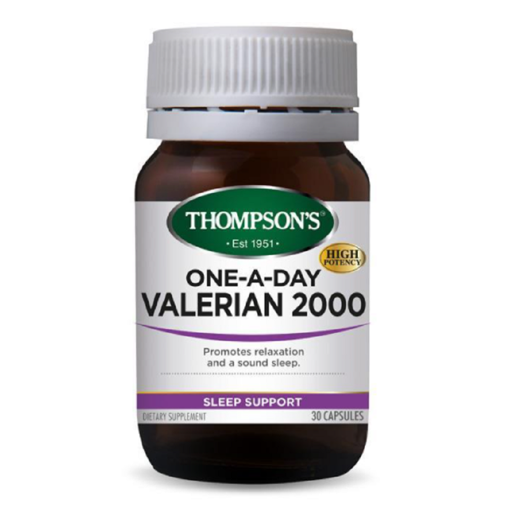 THOMPSON'S One-A-Day Valerian 2000 Capsules 30's