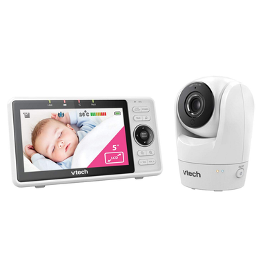 VTECH RM5762 Safe and Sound Wi-Fi 1080p HD Pan & Tilt Video Baby Monitor with Remote Access