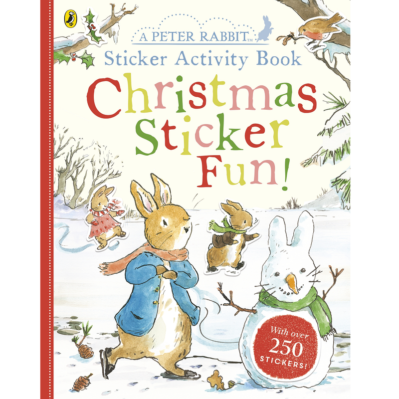 Beatrix Potter A Peter Rabbit Sticker Activity Book: Christmas Sticker Fun!