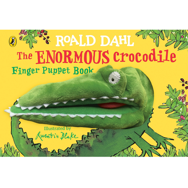 Roald Dahl The Enormous Crocodiles Finger Puppet Book