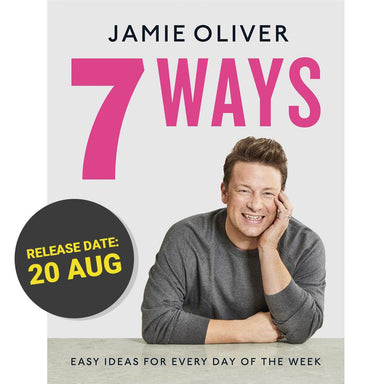 Jamie Oliver 7 Ways • Release date: 20 August 2020