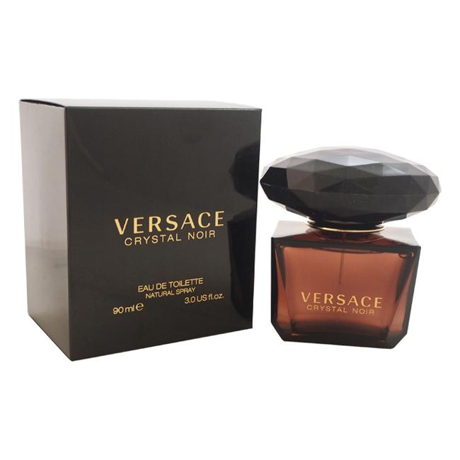 Versace Crystal Noir by Versace for Women - 90 ml EDT