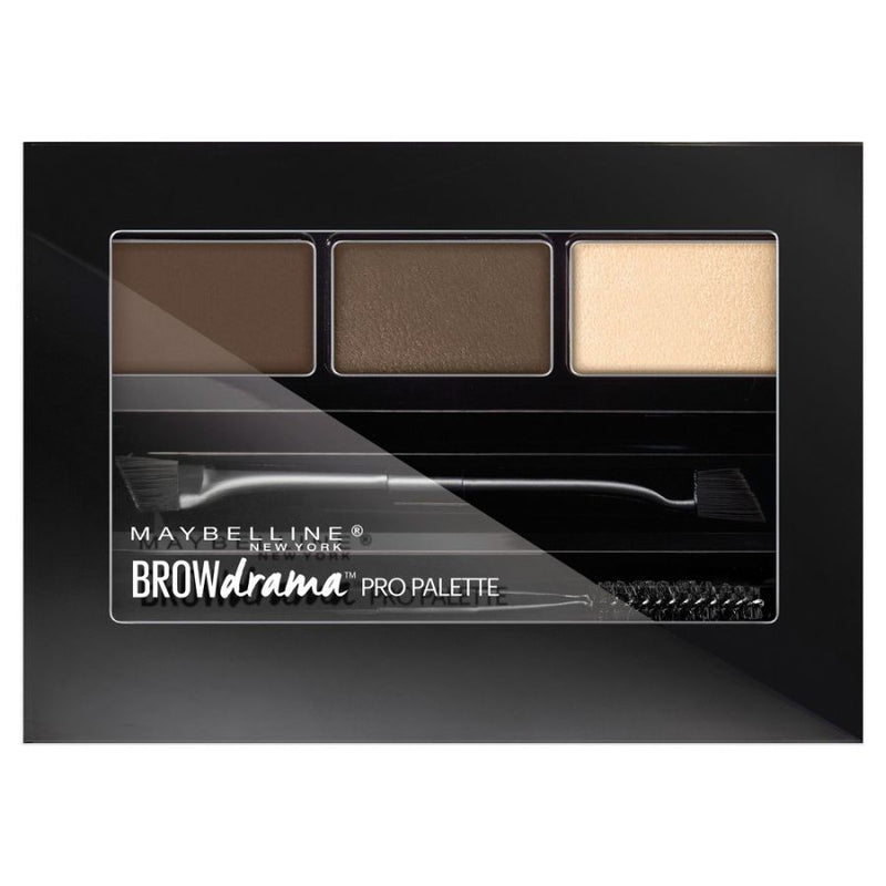 Maybelline Brow Drama Pro Eyebrow Filler Palette - 260 Deep Brown