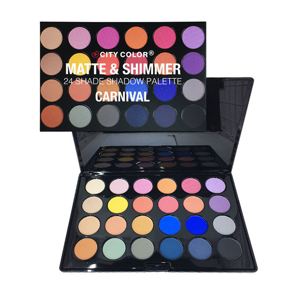 City Color 24 Eyeshadow Palette Carnival