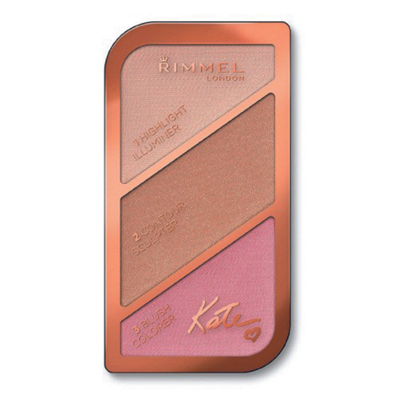 Rimmel London Kate Sculpting Palette - 001 Golden Sands