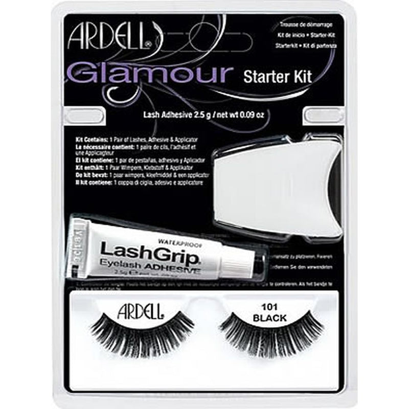 Ardell Natural Lashes Starter Kit - 101 Demi Black