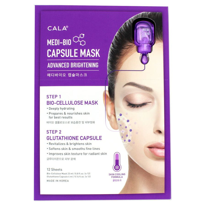 Cala Medi-Bio Capsule Mask - Advance Brightening
