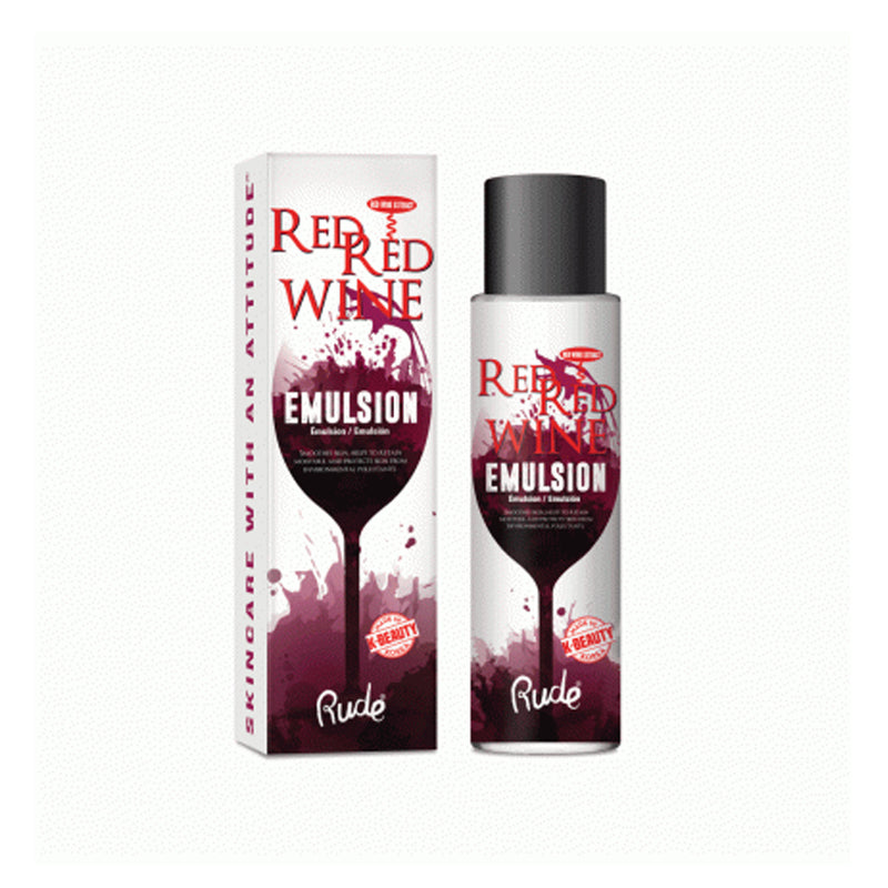 Rude Red Red Wine Emulsion