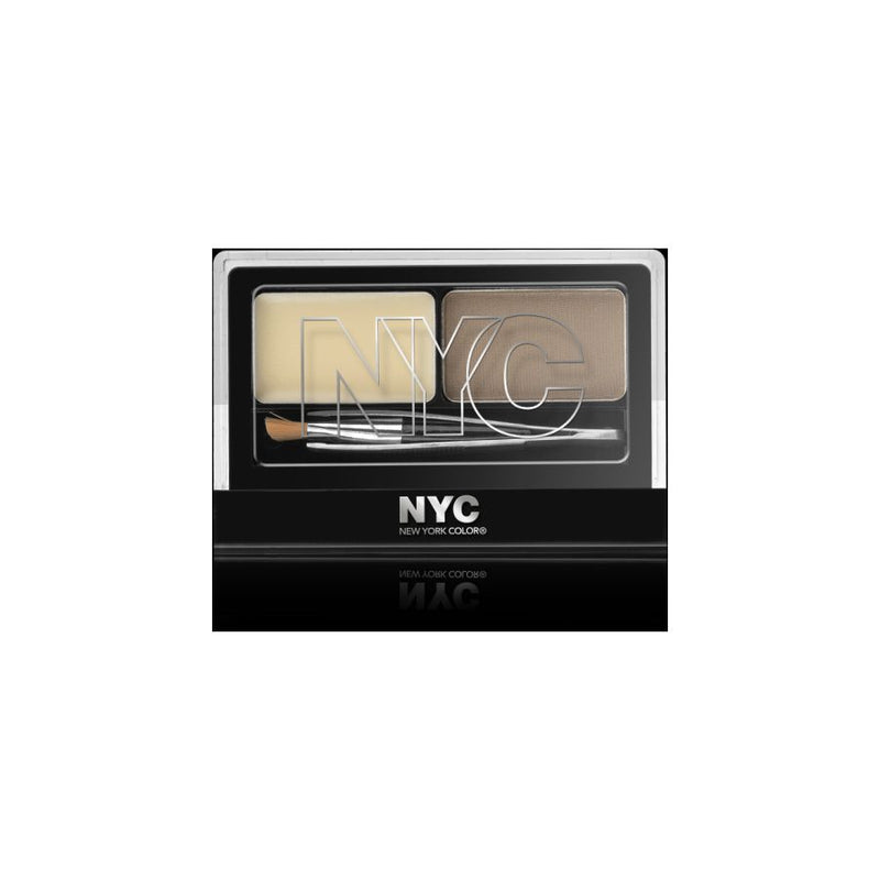 NYC Browser Brush-On Brow Kit - # 876 Brunette