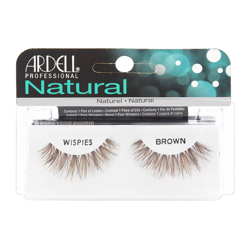 Ardell Invisibands Natural Lashes - Wispies Brown