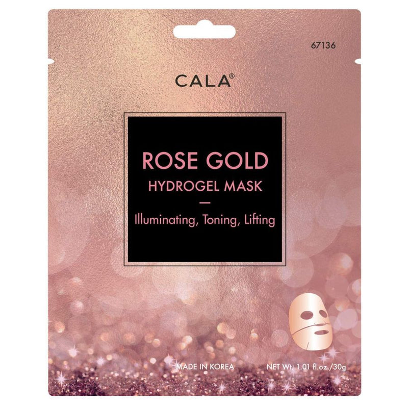 Cala Hydrogel Mask - Rose Gold