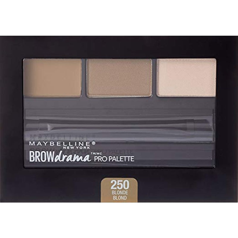 Maybelline Brow Drama Pro Eyebrow Filler Palette - 250 Blonde