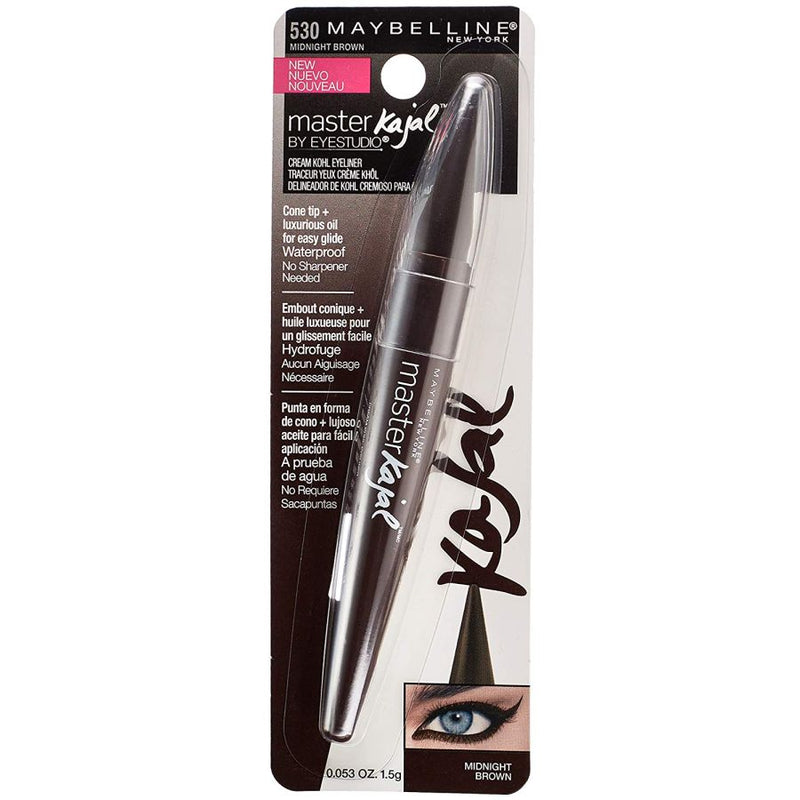 Maybelline Master Kajal Eyeliner - #530 Midnight Brown