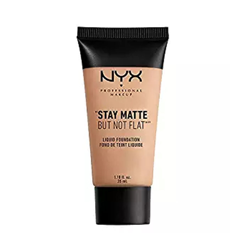 NYX Stay Matte But Not Flat Liquid Foundation - Soft Beige