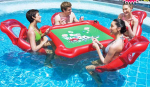 Inflatable Floating Table and Chairs
