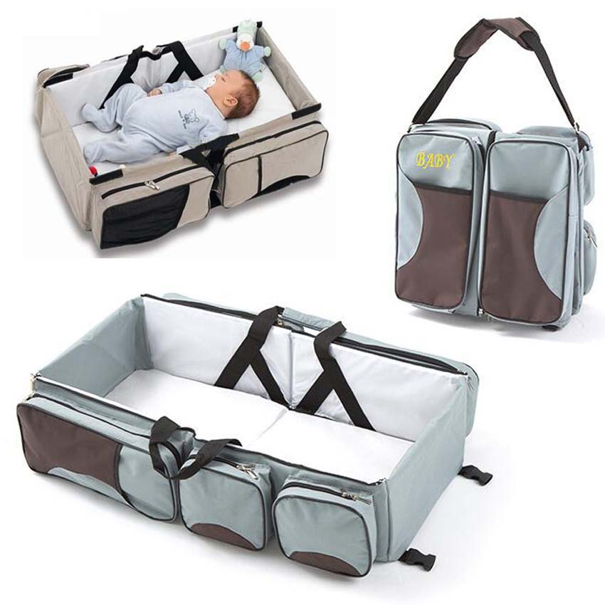 Foldable Portable Baby Bag