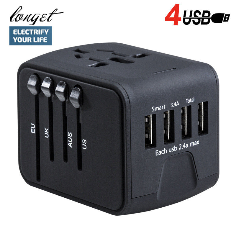 Universal Power Adapter for Travelers