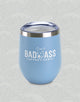 Blue Bad Ass Coffee of Hawaii CeCe 12 oz. Travel Tumbler