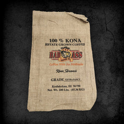 Burlap Coffee Bag - Small Logo