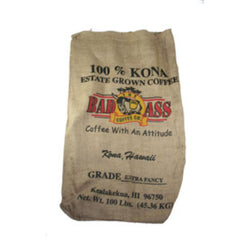 Burlap Coffee Bag - Large Logo