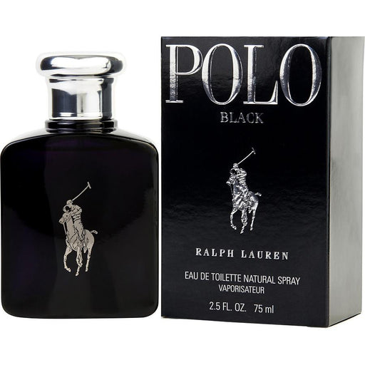 Polo Black Eau De Toilette 2.5 Oz by Ralph Lauren Fragrances for Men