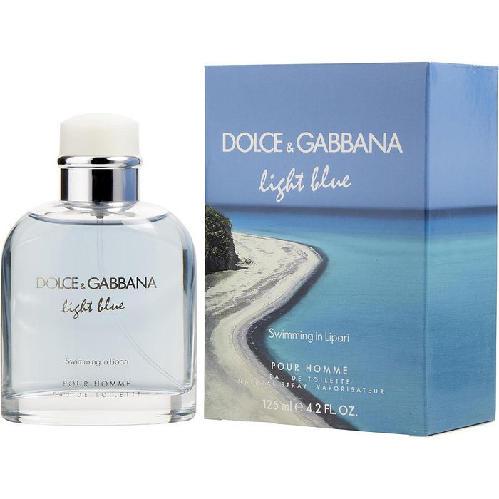 38643e3ffdbe ... Eau De Toilette Spray 4.2 Oz (limited Edition). Dolce & Gabbana D & G  Light Blue Swimming In Lipari Pour Homme By Dolce &