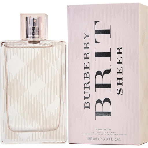 Burberry Brit Sheer  Eau De Toilette Spray 3.3 Oz (new Packaging) by Burberry Fragrances for Women
