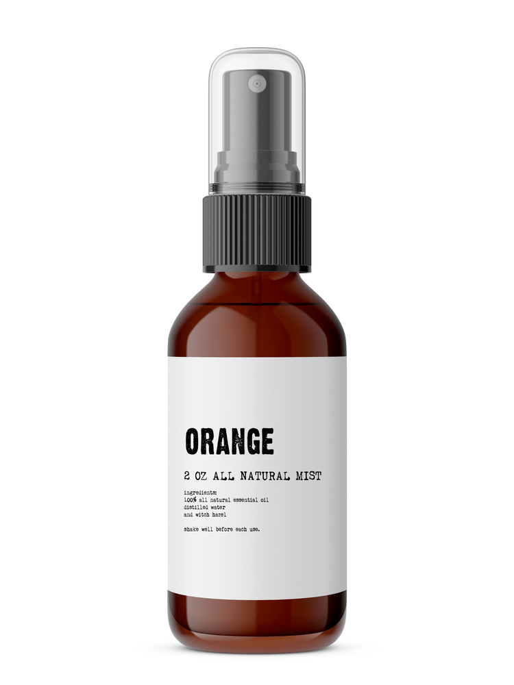 Orange - All Natural & Organic Body Mist by Purple Lily Bath & Beauty