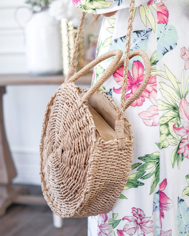The Sweet Summertime Straw Bag