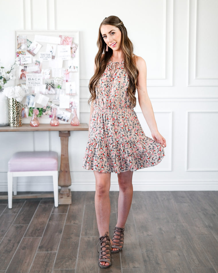 The Field of Flowers Dress