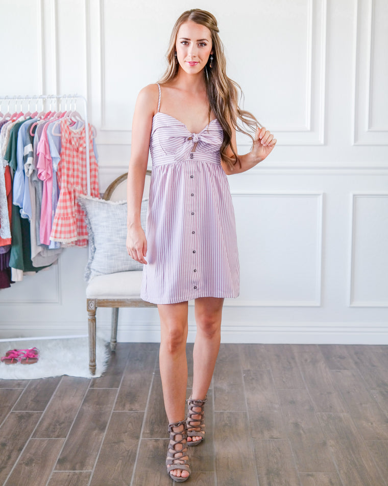 The Make Me Blush Dress