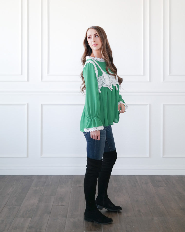 The Evergreen Blouse