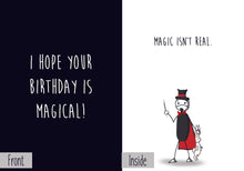 Birthday Pack (6 Original Cards) + BONUS GIFT - Dark Humor Greeting Card Nihilist Cards