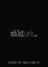 One in a Million Greeting Card - Dark Humor Greeting Card Nihilist Cards