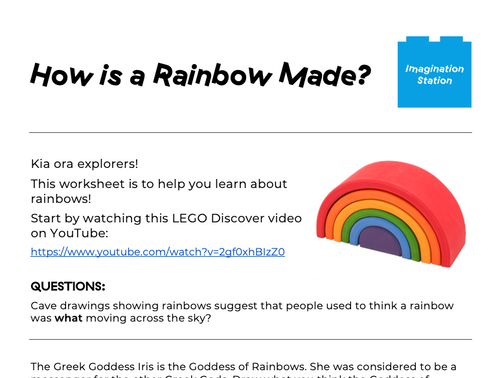 How is a Rainbow Made? (Junior Version) at Imagination Station